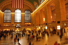 View inside Grand Central Terminal