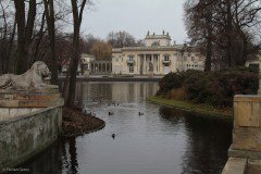 Palace on the Water at Łazienki Park, Warsaw