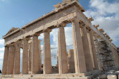 Parthenon on the Athenian Acropolis