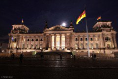 The Reichstag at night, Berlin