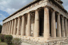 Hephaisteion or Temple of Hephaestus, Athens