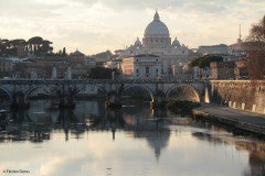 The Tiber and St. Peter's Basilica, Vatican