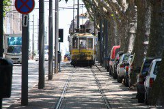 Tramway in Porto